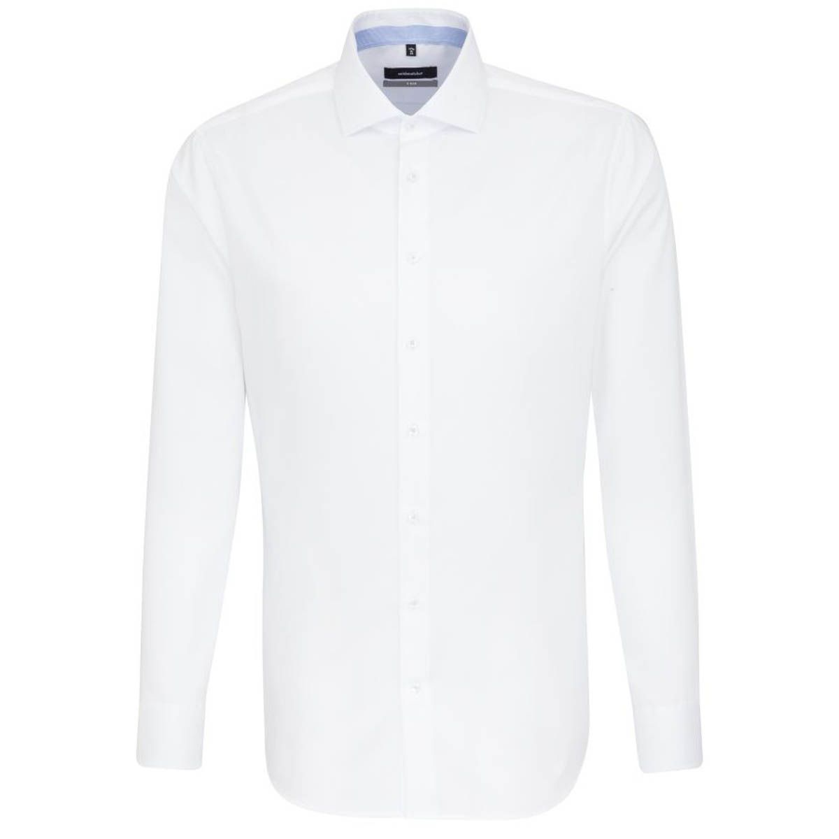 Chemise extra-slim blanche twill