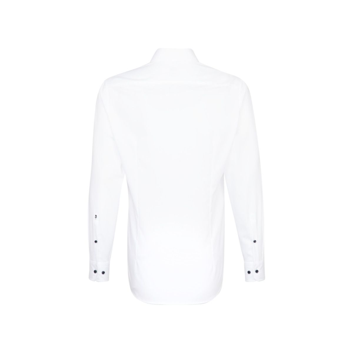 Chemise droite blanche manches extra-longues