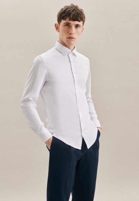 Chemise performance slim blanche