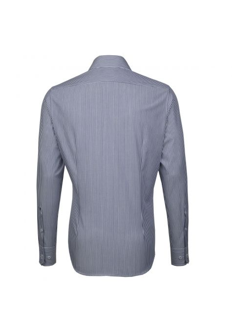 Chemise TAILORED Printed rayures Bengale bleues